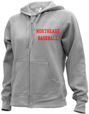 Northeast High School Zip-up Hoodies