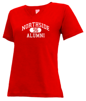 Northside High School V-neck Shirts