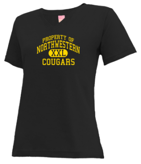 Northwestern Elementary School V-neck Shirts