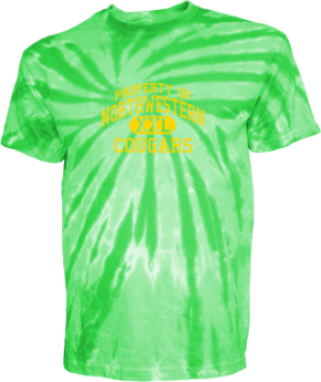 Northwestern Elementary School Kid Tie-dye T-Shirts