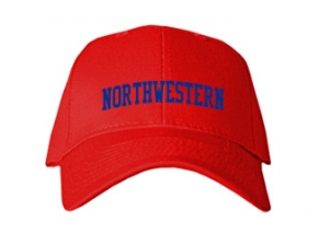 Northwestern High School Kid Embroidered Baseball Caps