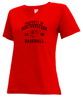 Northwestern High School V-neck Shirts