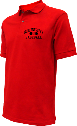 Northwestern High School Embroidered Polo Shirts