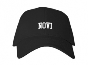 Novi High School Kid Embroidered Baseball Caps