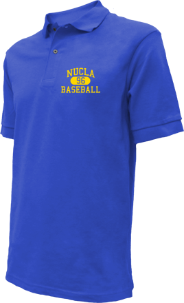 Nucla High School Embroidered Polo Shirts