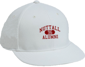 Nuttall Middle School Flat Visor Caps