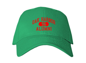 Oak Harbor Middle School Embroidered Baseball Caps