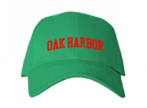 Oak Harbor Middle School Kid Embroidered Baseball Caps