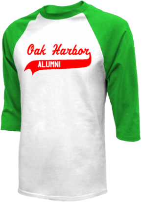 Oak Harbor Middle School Raglan Shirts