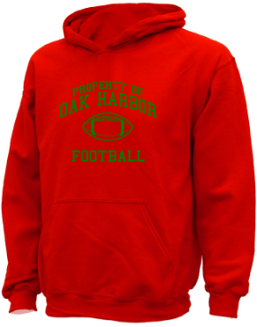 Oak Harbor Middle School Kid Hooded Sweatshirts