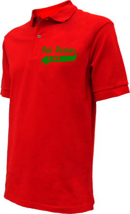 Oak Harbor Middle School Embroidered Polo Shirts