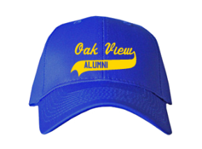 Oak View Middle School Embroidered Baseball Caps
