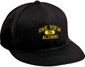 Oak View Middle School Flat Visor Caps