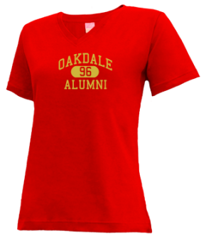 Oakdale High School V-neck Shirts
