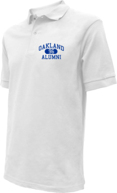 Oakland High School Embroidered Polo Shirts