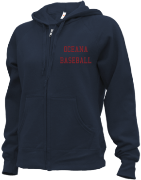 Oceana High School Zip-up Hoodies