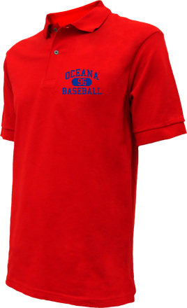 Oceana High School Embroidered Polo Shirts