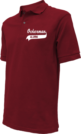 Ockerman Middle School Embroidered Polo Shirts