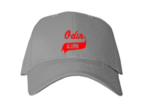 Odin Elementary School Embroidered Baseball Caps