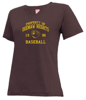 Ogemaw Heights High School V-neck Shirts