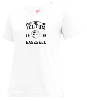 Oilton High School V-neck Shirts