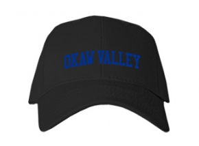 Okaw Valley High School Kid Embroidered Baseball Caps