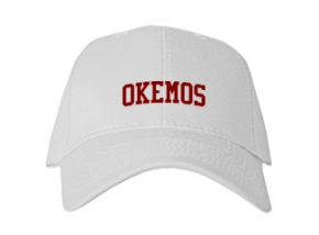 Okemos High School Kid Embroidered Baseball Caps
