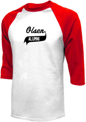 Olsen Middle School Raglan Shirts