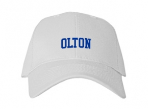 Olton High School Kid Embroidered Baseball Caps