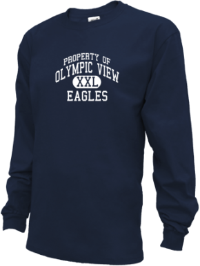 Olympic View Elementary School Kid Long Sleeve Shirts