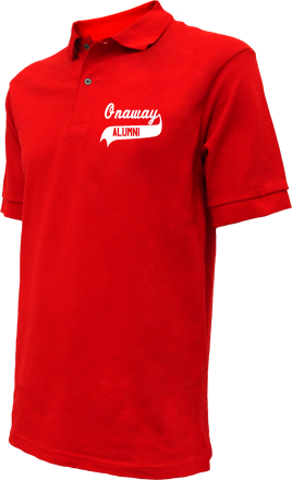 Onaway Elementary School Embroidered Polo Shirts