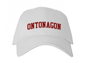 Ontonagon High School Kid Embroidered Baseball Caps