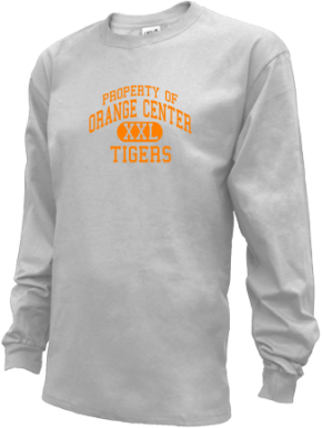 Orange Center School Kid Long Sleeve Shirts