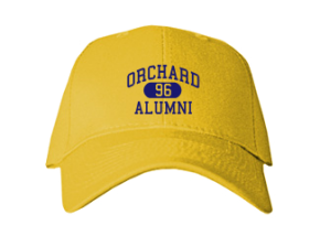 Orchard Elementary School Embroidered Baseball Caps