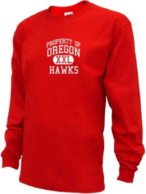 Oregon High School Kid Long Sleeve Shirts