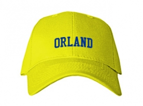 Orland Junior High School Kid Embroidered Baseball Caps