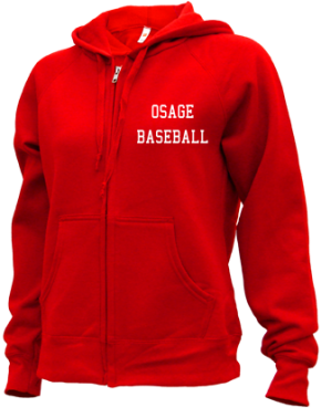 Osage High School Zip-up Hoodies