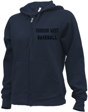 Oshkosh West High School Zip-up Hoodies