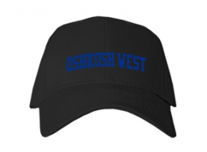 Oshkosh West High School Kid Embroidered Baseball Caps