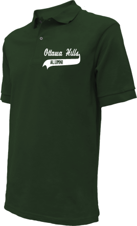 Ottawa Hills Elementary School Embroidered Polo Shirts