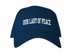 Our Lady Of Peace School Kid Embroidered Baseball Caps