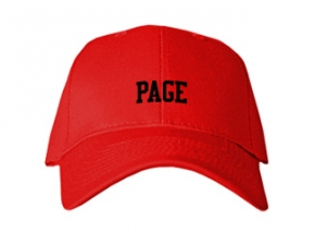 Page High School Kid Embroidered Baseball Caps