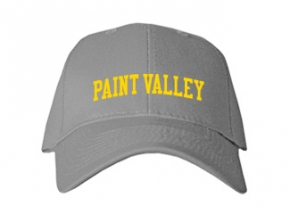 Paint Valley High School Kid Embroidered Baseball Caps