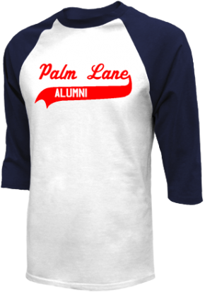 Palm Lane Elementary School Raglan Shirts