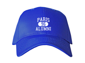 Paris High School Embroidered Baseball Caps