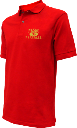 Paseo High School Embroidered Polo Shirts