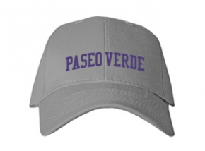 Paseo Verde Elementary School Kid Embroidered Baseball Caps