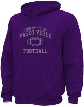 Paseo Verde Elementary School Kid Hooded Sweatshirts