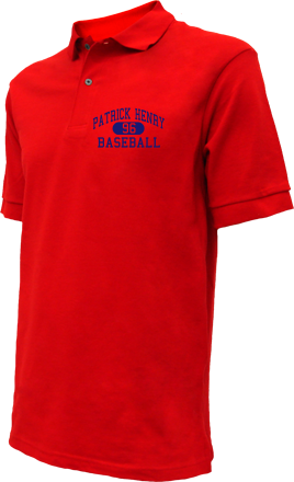 Patrick Henry High School Embroidered Polo Shirts
