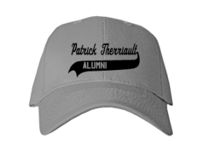 Patrick Therriault Elementary School Embroidered Baseball Caps